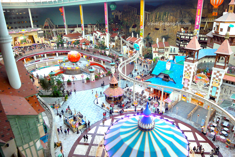 Top View of Lotte World