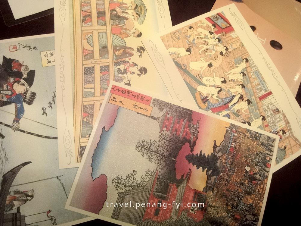 Postcards I sent that never reach Malaysia, but they reached Singapore  <.<