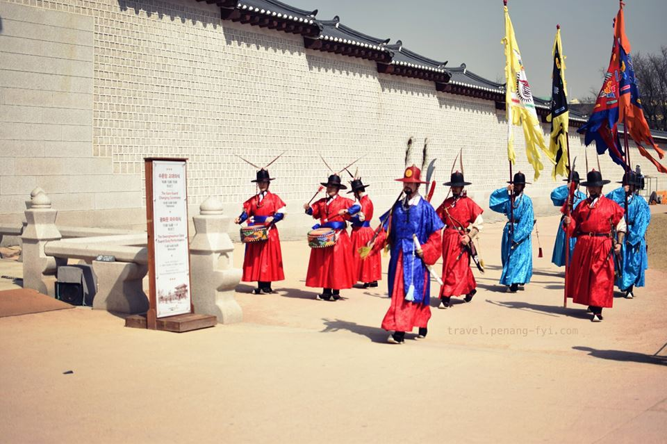 Royal Guards Changing Ceremony