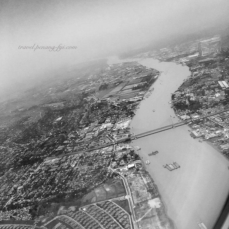 Yangon from sky