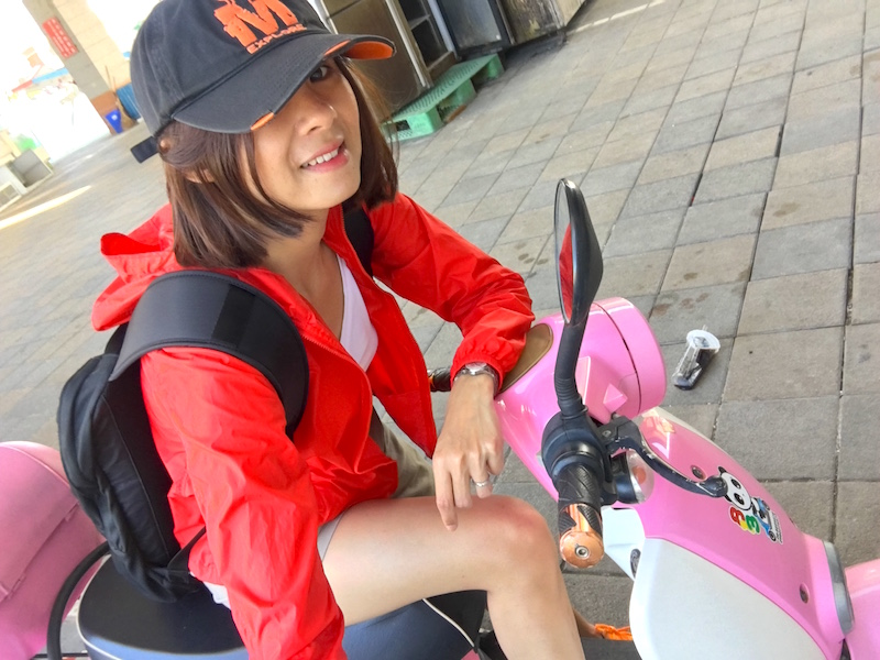 kenting-pink-scooter