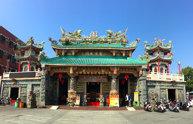 Anping-Kaitai-Matsu-Temple