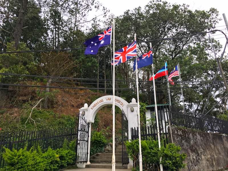 kundasang_war_memorial_entrance